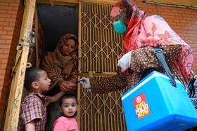 (تصاویر)واکسیناسون آبله در لاهور پاکستان