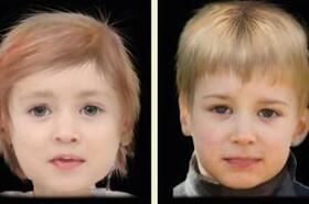 پیش بینی چهره کودک قبل از تولد!