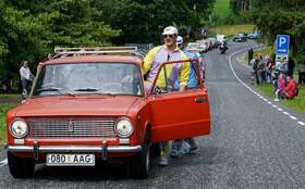 جشن پنجاهمین سالگرد خودرو لادا ساخت روسیه در استونی