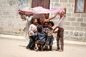 بازی کودکان در صنعا یمن