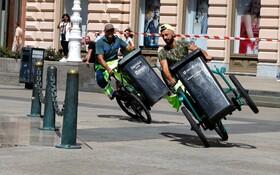 مسابقه کاگران شهرداری در زاگرب کرواسی