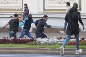 تظاهرات علیه لوکاشنکو در مینسک بلاروس