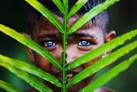راز قبیله ای که تمام افرادش چشمان آبی درخشان دارند + تصاویر