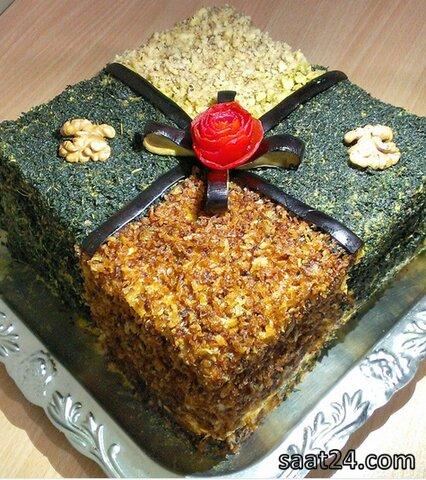 طرز تهیه کیک کشک بادمجون