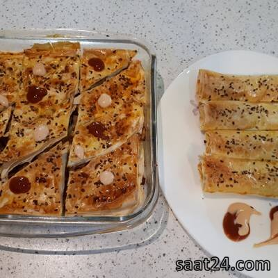 طرز تهیه بورک قارچ و سویا