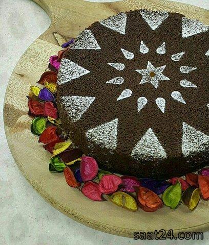 طرز  تهیه کیک شیفون شکلاتی